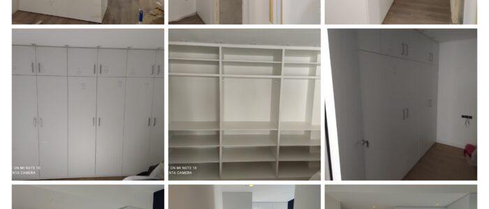 Montajes de armarios realizados por montajes m3